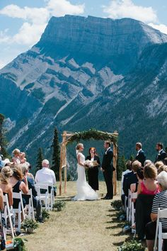 Where to Get Married in Banff, Canmore, Lake Louise, Jasper and Beyond!