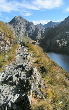 Lake Harris, Routeburn Track, Mount Aspiring National Park, NZ