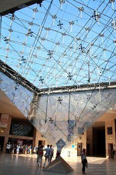 Piramide de Vidro do Louvre
