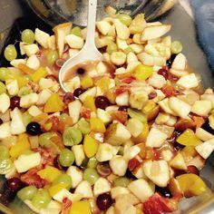Derenko schlemmt//fruchtexplosion//fresh//obstsalat Black Eyed Peas, Pasta Salad, Ethnic Recipes, Food, Fruit Salads, Crab Pasta Salad, Meals, Noodle Salads, Yemek
