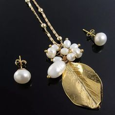 524af1c8e146 Collar Cadena mujer perlas cultivadas perlas de agua cadena oro goldfilled  lindas joyas