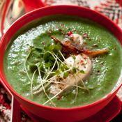 Soupe de légumes verts d'hiver - une recette Végétarien - Cuisine