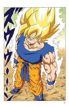 Read Dragon Ball Full Color - Freeza Arc Chapter 70 Page 10 Online For Free Dragon Ball Z, Manga Dbz, Super Saiyan 4 Goku, Naruto Y Sasuke, Akira, Naruto Drawings, Fandom, Cultura Pop, Animes Wallpapers