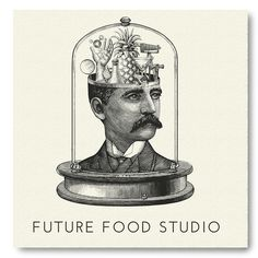 Future Food Studio Logo Illustrated by Steven Noble on Behance