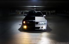 Black and white BMW. I would.