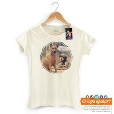 Camiseta Feminina Luan Santana Cê Topa Me Adotar? Coleção Beneficente Luan Santana