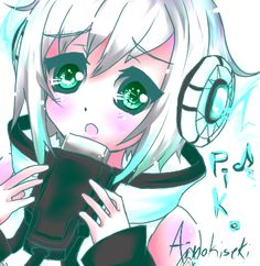 SOOOOOOOOOOoooo CUTE!!!!! Vocaloid Piko, Slender Girl, Mikuo, Otaku, Kawaii, Album, Drawings, Cute, Anime