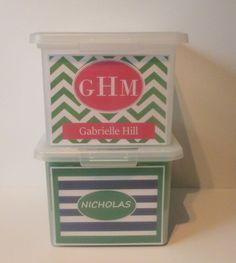 Sibling Bundle  2 School Memory Boxes/2 by SchoolMemoryBoxShop