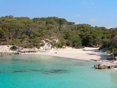 CALA TURQUETA, Menorca, Balearic Islands, SPAIN #wildbeach [© unknown] ➳ wilderness beach