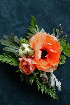 Love 'n Fresh Flowers - Flower Farm and Wedding Florist Philadelphia Wrist Flowers, Prom Flowers, Lavender Flowers, Orange Flowers, Flowers In Hair, Wedding Flowers, Wedding Bells, Flower Corsage, Wrist Corsage