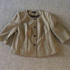 Talbots 3/4 Sleeve Jacket