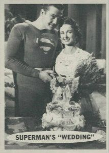 Detailed look at the top Superman card sets of all-time. Includes set info, card images, buying guide and analysis for the Man of Steel's cardboard legacy. First Superman, Superman Comic, Superman Stuff, Superman Wedding, Original Superman, George Reeves, Hero Tv, Adventures Of Superman, Somewhere In Time