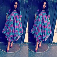 Latest Creative and Adorable Ankara styles that will inspire you and help improve your fashion sense. Latest African Fashion Dresses, African Dresses For Women, African Print Fashion, African Attire, African Women, Ankara Fashion, Africa Fashion, African Prints, African Fabric