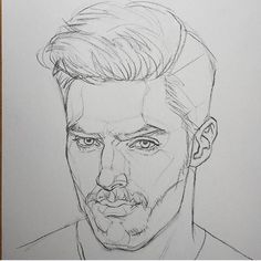 Curtis, maybe Kai post-injury Guy Drawing, Drawing People, Figure Drawing, Drawing Sketches, Painting & Drawing, Art Drawings, Portrait Au Crayon, Portrait Art, Art Et Design