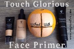 Younique's Touch Glorious Face Primer. Do you prime? No?!? Well, check this out... •Create a smooth canvas for your foundation by filling in fine lines and pores. • Keep your makeup in place, ALL. DAY. LONG. • Use LESS foundation and create MORE coverage. (Think of the savings!!$$$) • Lock in your hydration! www.meghandirk.com