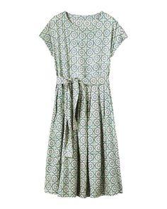 Women's Tile Print Dress