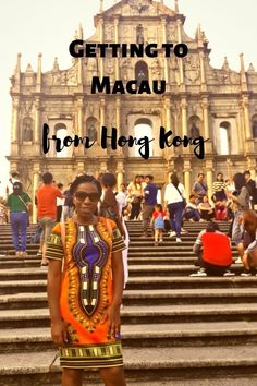 Macau is just an hour long boat ride from Hong Kong.  Getting there is a such a breeze.