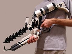 Life Sized District 9 Arc Gun Made From LEGO Blocks