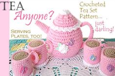 Crocheted Tea Set Pattern - jeancurtis50 - Picasa Web Albums