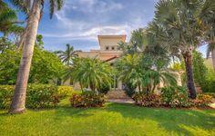 Just Listed Modern Mediterranean Home on Key Biscayne – Debra Wellins Real Estate: Pinecrest Coral Gables Coconut Grove Key Biscayne, Coconut Grove, Residential Real Estate, Coral Gables, Sidewalk, Architecture, Luxury, Modern, Plants