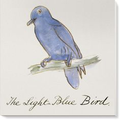 Canvases of The Light Blue Bird by V&A (1500mm x 1500mm) | Shop | Surface View