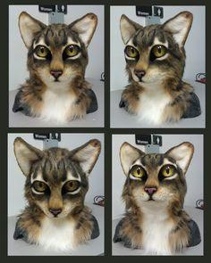 Realistic cat head FOR SALE by Eddie-Ka on deviantART