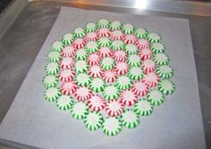 Peppermint Candy Tray
