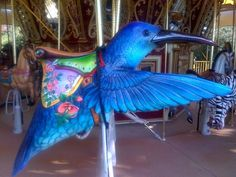 I would actually go ON  the Merry go round if I saw this!