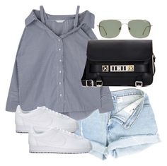 """""""Untitled #4416"""" by theeuropeancloset on Polyvore featuring Proenza Schouler and NIKE"""