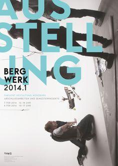 Bergwerk – Ausstellung der Fakultät Gestaltung Würzburg – Winter 2014