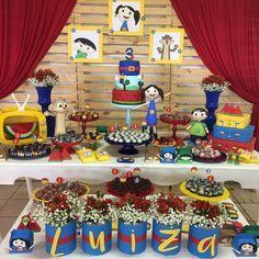Hj a Luíza comemora seus 3 anos com O Show da Luna!!! ❤️ #scrapfesta #festamenina #showdalunaparty #festaluna #jupter #claudio #luna