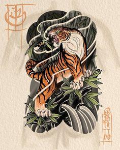 Finished up this Classic tiger @stevestontattoocompany up for grabs #tiger #japanese #japanesetattoo #neojapanese #tattoo #tattoos #ink #digital #digitalartist #digitalart #asian #asian_inkandart #irezumi #irezumicollective #asian_inkspiration #thebesttattooartists #thebesttattooartistsjpn #japanesetattooart #tattoo_art_worldwide #ipad #ipadpro #ipadprotattooteam @tattoosmart