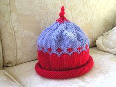 freddyknits: Beginner's Fair Isle Baby Hat - free pattern