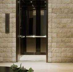 Clean Simple Elevator Interior