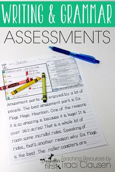 pdf writing assessment tools