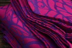 Solnce Genesis Leonhart 4 50% purple Egyptian cotton, 30% fuchsia Egyptian cotton, 10% fuchsia cashmere, 10% fuchsia mulberry silk 270gr/m2