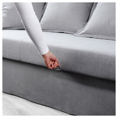 HOLMSUND Sleeper sofa - Nordvalla medium gray - IKEA - Ikea sala maritza - Chemistry Informations Sofa Bed Frame, Ikea Sofa Bed, Sofa Beds, Sofa Bed For Small Spaces, Wooden Pallet Beds, Diy Pallet, Pallet Projects, Shopping, Mesas