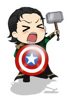 I am Loki of Asgard and I am burdened with a glorious Props Department!  By Mibu-no-ookami