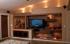 drywall entertainment centers | Thunderbird Custom Design: Photos