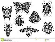 tribal bug tattoos - Google Search