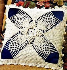 Наволочка на подушку крючком | Рукоделие и вязание