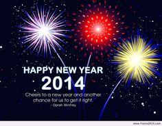 Happy new year 2014 card Happy new year 2014 card