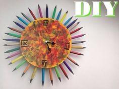 DIY Decor room. Clock. Сделай сам Декор комнаты. Часы