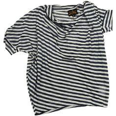 Àñèììåòðè÷íàÿ òðèêîòàæíàÿ ìàéêà ❤ liked on Polyvore featuring tops, t-shirts, shirts, tees, shirt top, t shirt, vivienne westwood t shirt, vivienne westwood and vivienne westwood tops