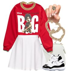 @drakebae-1 Here ya go. You can also wear this with the Carmines or even a pair of heels. & I think a high ponytail would be perfect for this.  Happy Early B-Da...