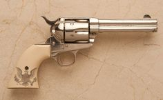 ❦ Colt .38 Caliber Single Action Army Revolver          Sold for $ 2,990