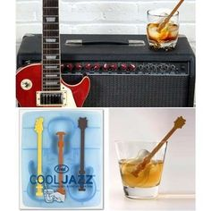 Ice Tray Guitar  Freeze, stir, and chill!