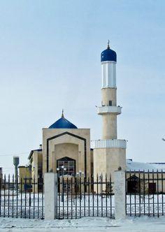 :::: ✿⊱╮☼ ☾ PINTEREST.COM christiancross ☀❤•♥•* :::: The Mosque, Karganda, Kazakhstan