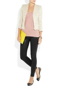 J Brand Aoki Tulum brand, Colored skinny jeans and Capri jeans on Pinterest