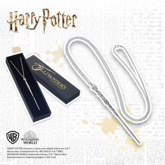 Order this Harry Potter Sterling Silver Wand Necklace online. Free UK delivery when you spend or more. Harry Potter Gift Box, Harry Potter Jewelry, Harry Potter Characters, Necklace Online, Warner Bros, Wands, Jewelry Collection, Jewelry Rings, Handmade Jewellery